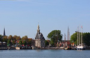 Uitzicht op Hoorn